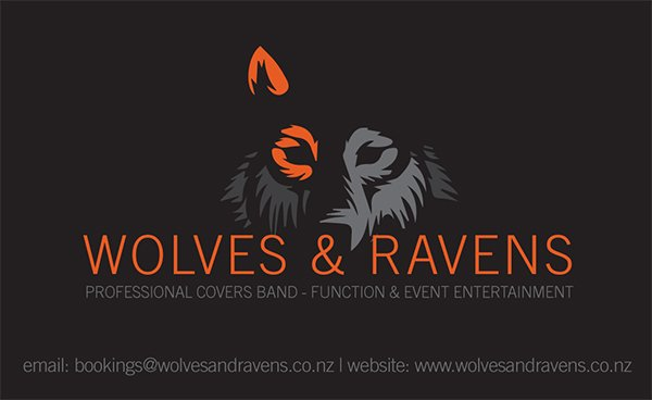 Function Entertainment Auckland | Contact Wolves and Ravens band
